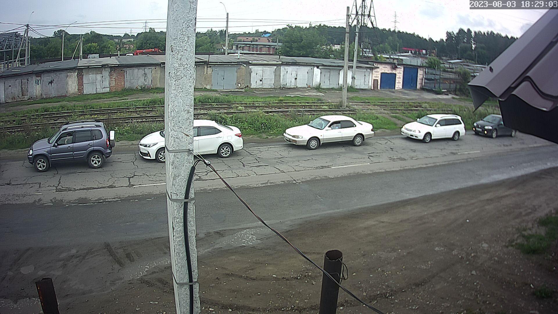 Веб-камера Бийска, гаражи Кутузова