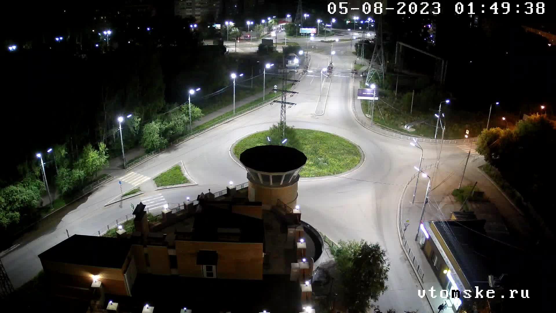 Веб-камера Томска, площадь Южная