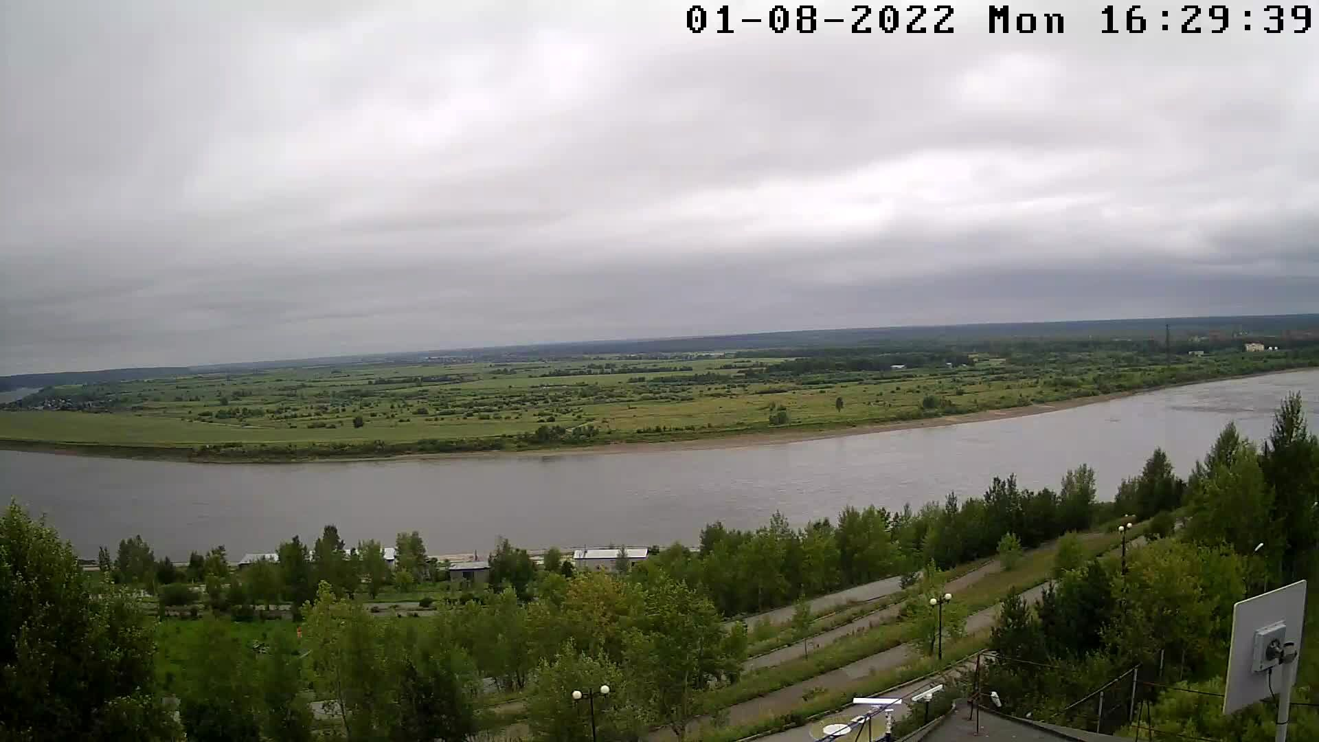 Webcam Translyaciya reki Tom, Tomsk, Russia