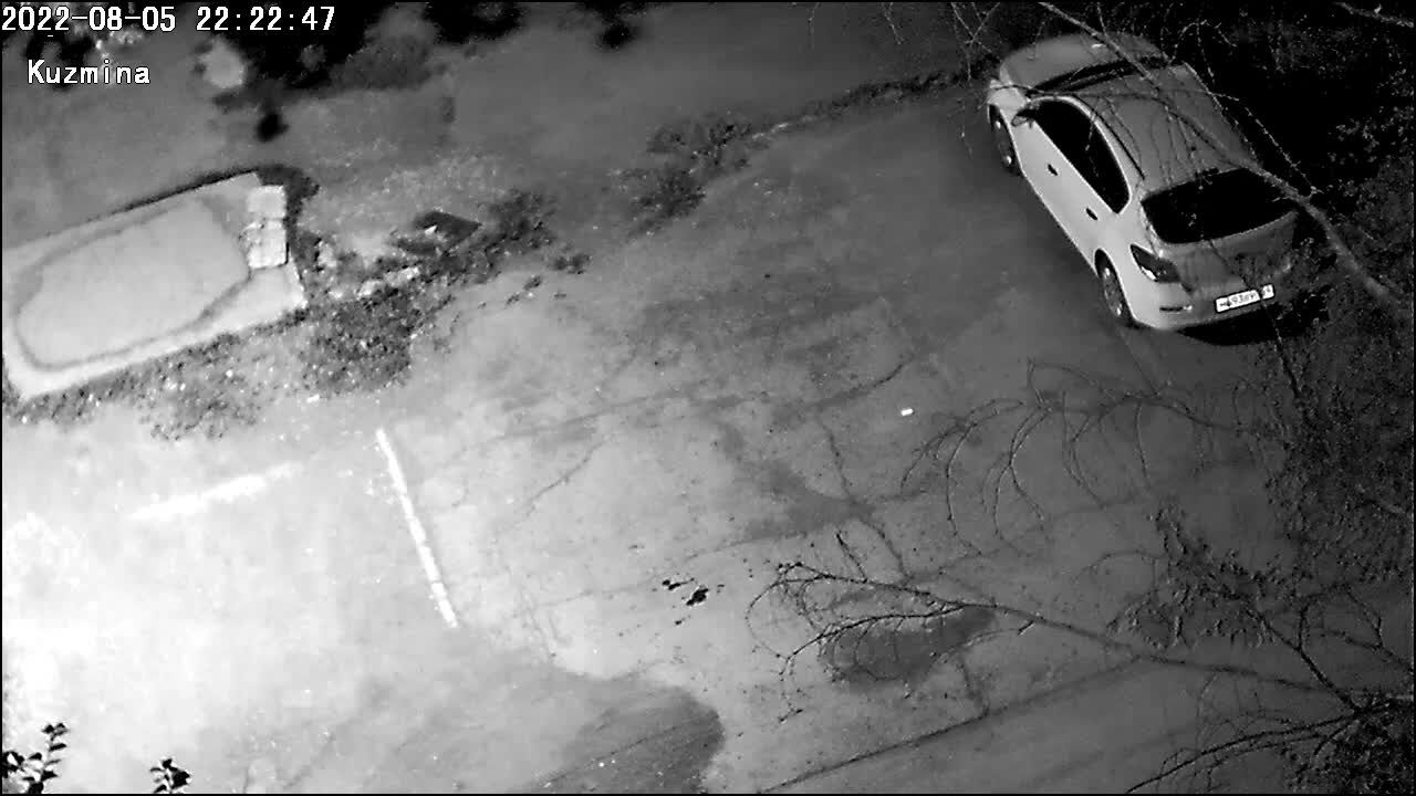 Webcam parking, Lysva, Perm Territory, Russia