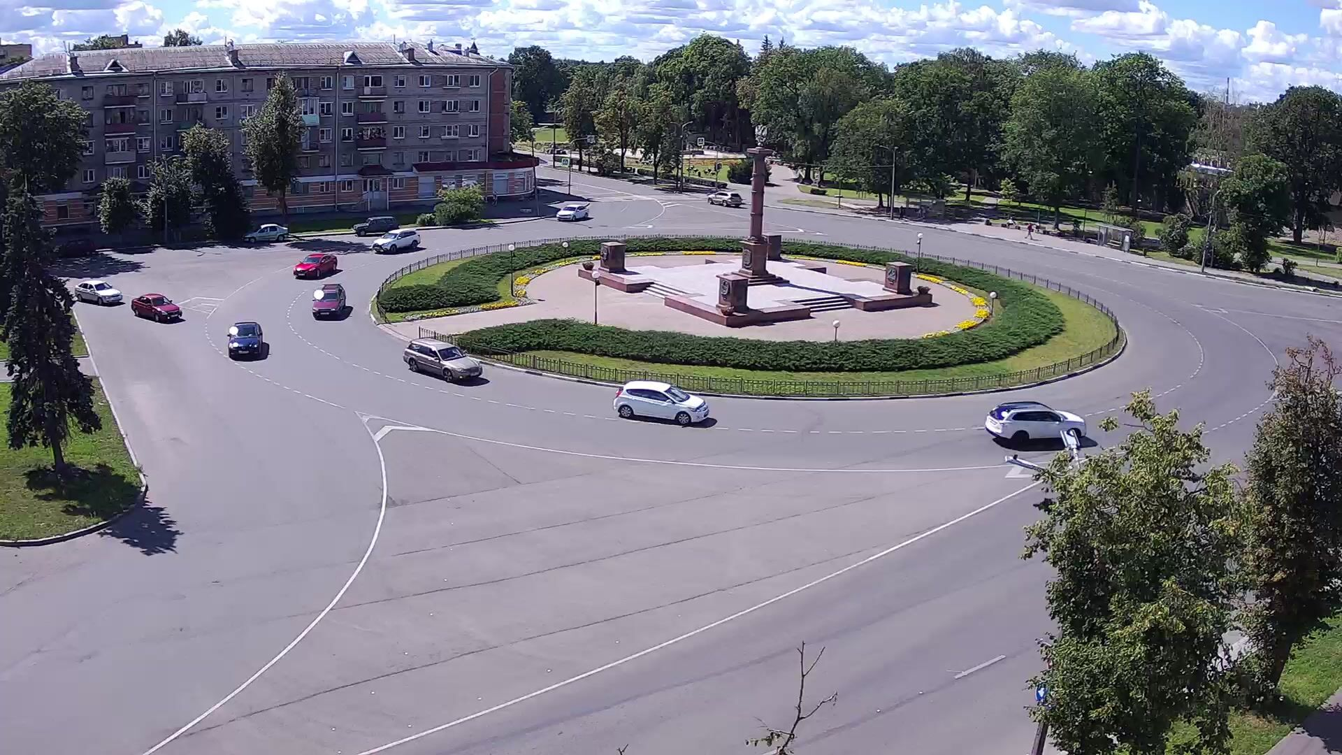 Webcam Privokzalnaya ploschad, Pskov, Russia