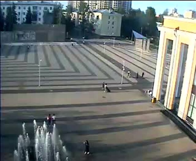 Webcam Tereshkovoy -1 Ploschad, Korolyov, Moscow Region, Russia